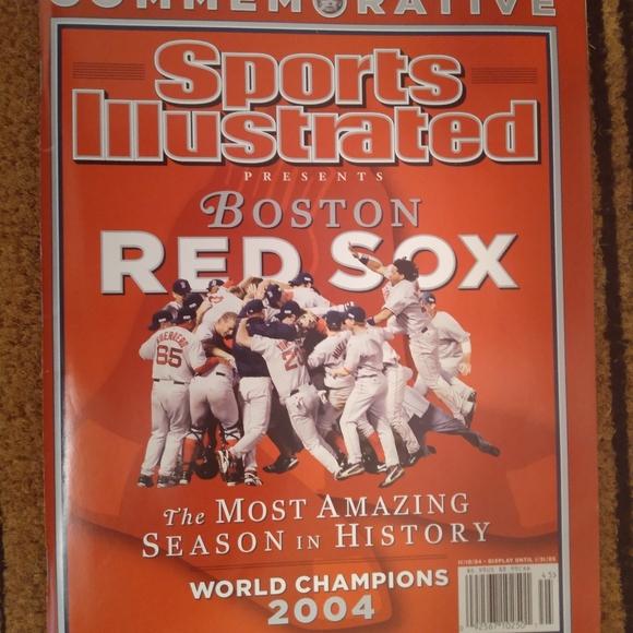 Boston Red Sox 2004 World Series Memorabilia